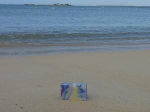 Alangui sur le sable chaud